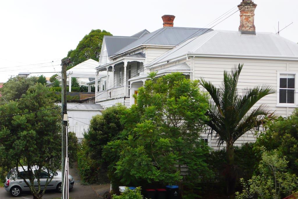 Our street, green, safe, vibrant & historic neighbourhood.