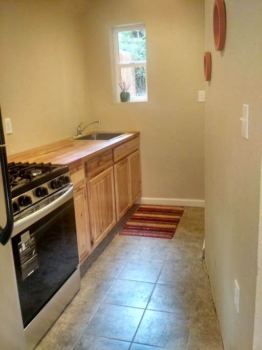 all new appliances and cabinets