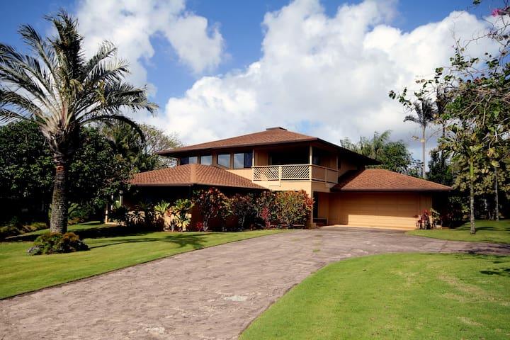 3 Master Bedroom House on Kauai- 20 5 star reviews - Princeville - Rumah