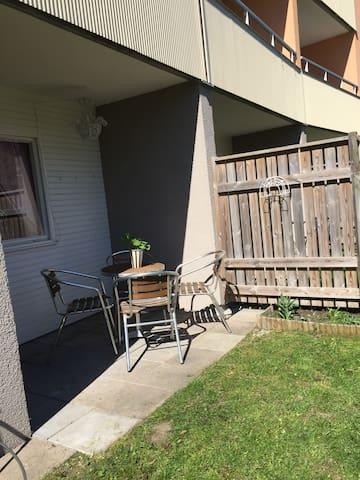 Trevlig lägenhet i Visby - Visby - Appartement