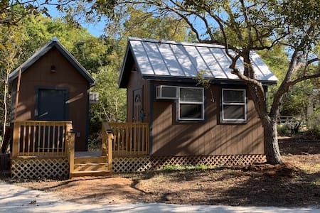 Retreat to the Texas Hill Country in Micro Cabins