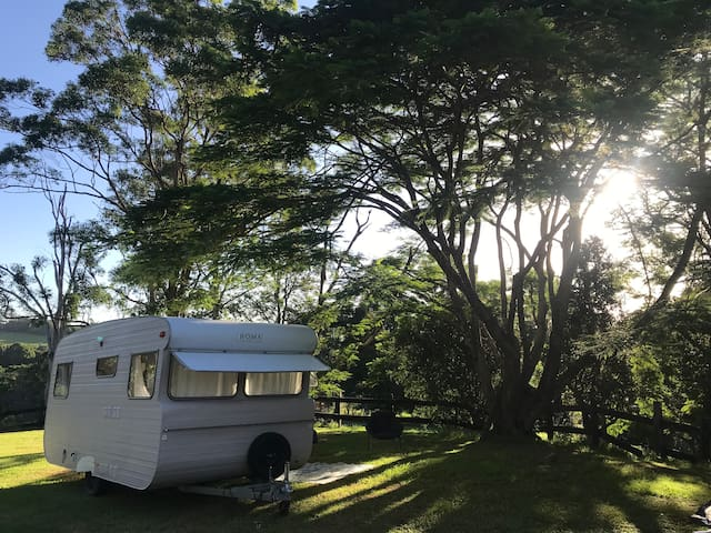 Beautifully renovated caravan Brunswick Heads