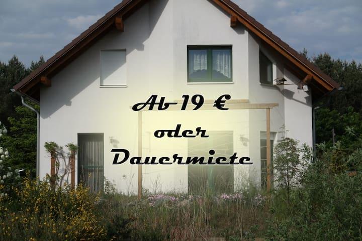Haus am Wald mit Sauna, Radeburg 16 min - Dresden
