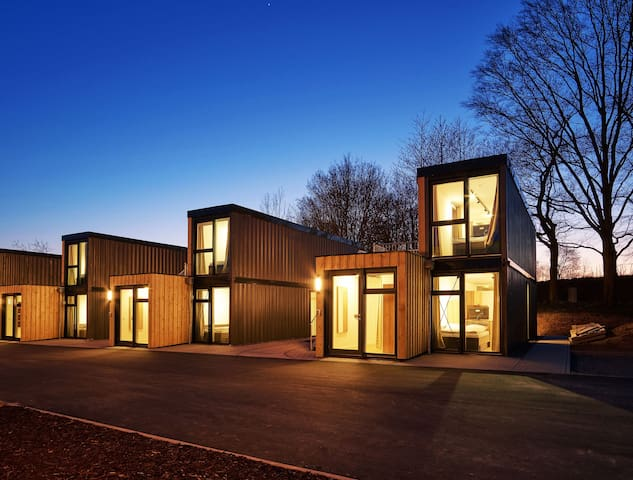 Modern Designed Cargo Container as Tiny House