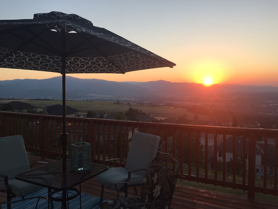 Sought after sunset views from the best vantage point in Missoula
