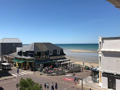 Coutainville Plein centre convivial plages et mer