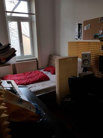 Cozy couples flatroom 15min to city center
