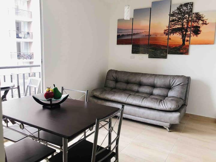 Moderno APTO con aire acond y Netflix en Villavo