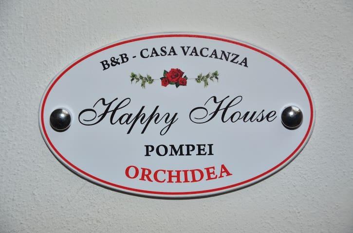 Happy House Pompei dall'antica alla nuova città.