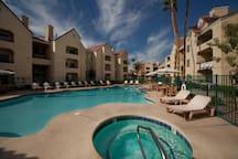 Las Vegas Condo 1 Block from Strip 2BR 1026 sq ft