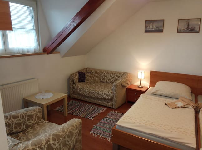 Apartment No.2 located 1500 m from Aquacity Poprad