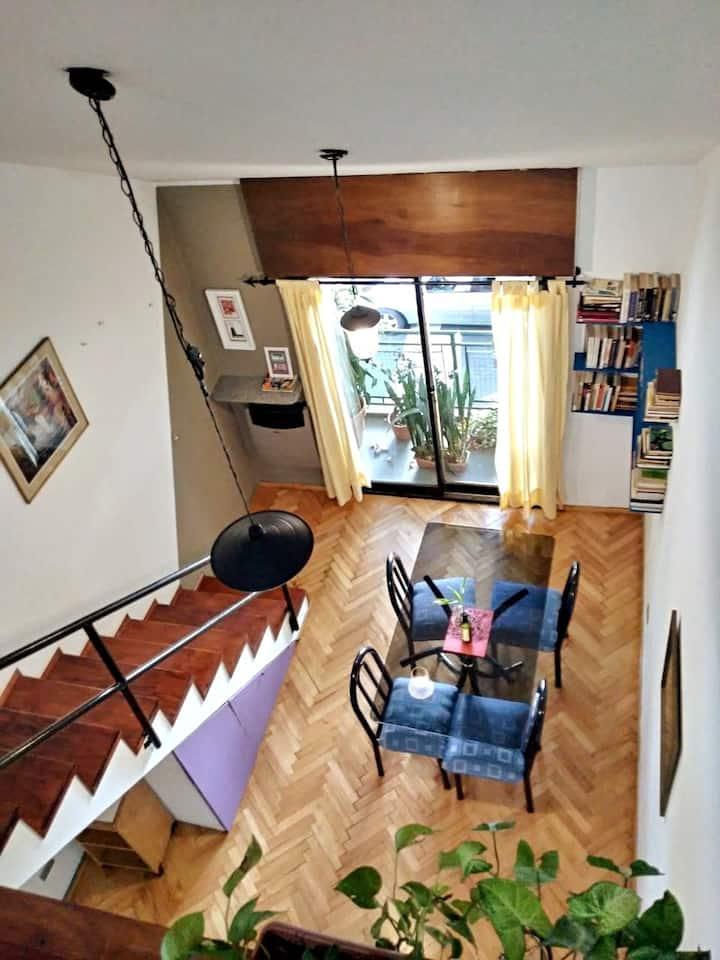 """""""La casita de León"""" Luminoso y cómodo Duplex."""