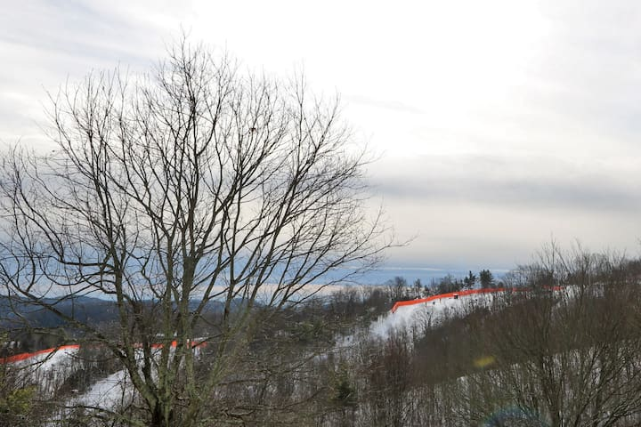 View of Ski Slopes at Appalachian Ski Mountain