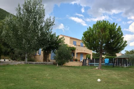 Luxury villa with private pool, gas barbecue, wifi - Banon