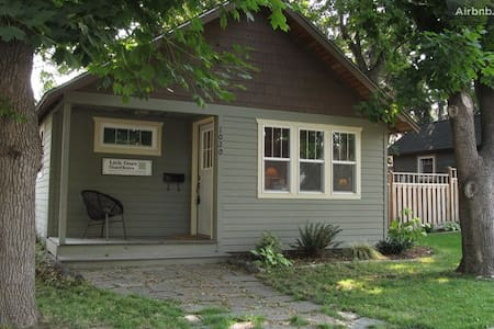 Little Green Guesthouse close to downtown & U of I