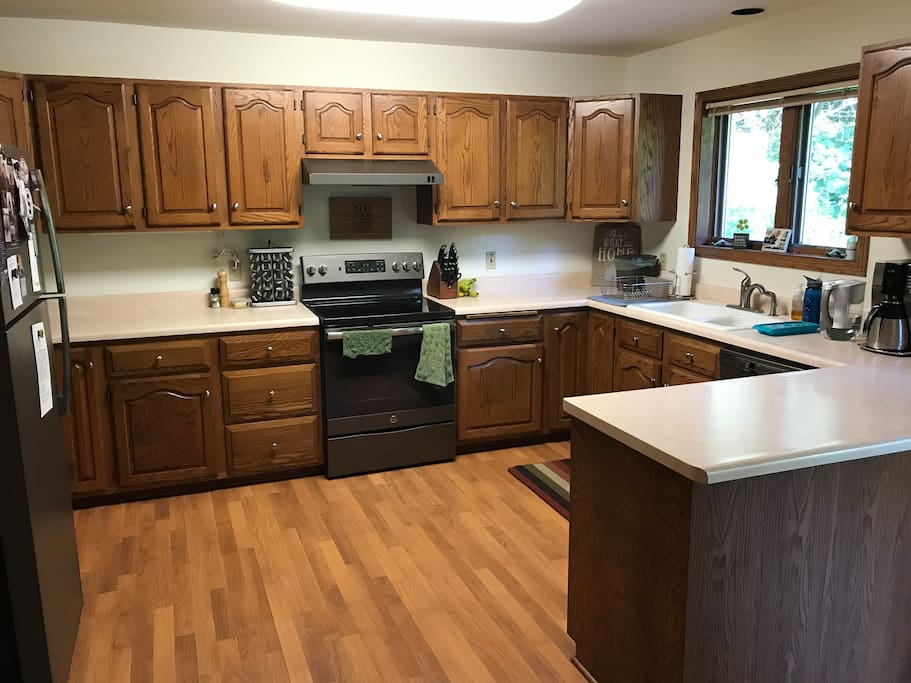 Help yourself to using our kitchen!