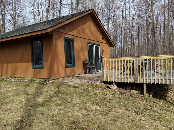 Ott's Cozy Cabin -- quiet privacy in the woods