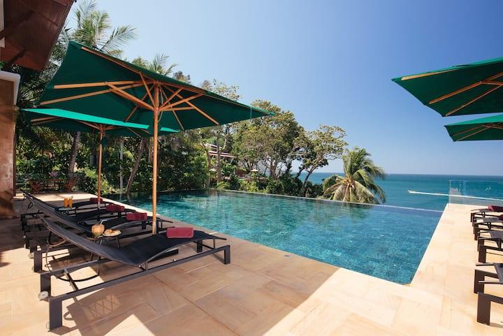 Luxury Villa Sunyata - 8 BR - Walk to Kata Beach