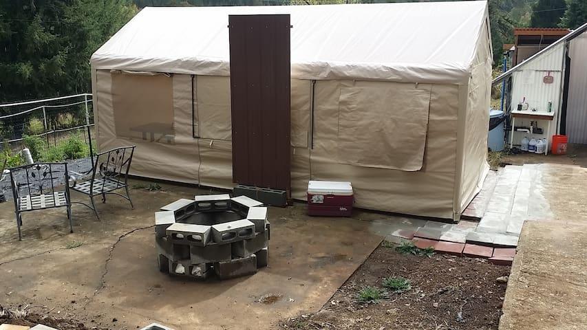 1st of 10 campsites  w Central needs - Cottage Grove - Tält