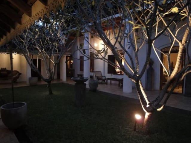 Courtyard in the Night
