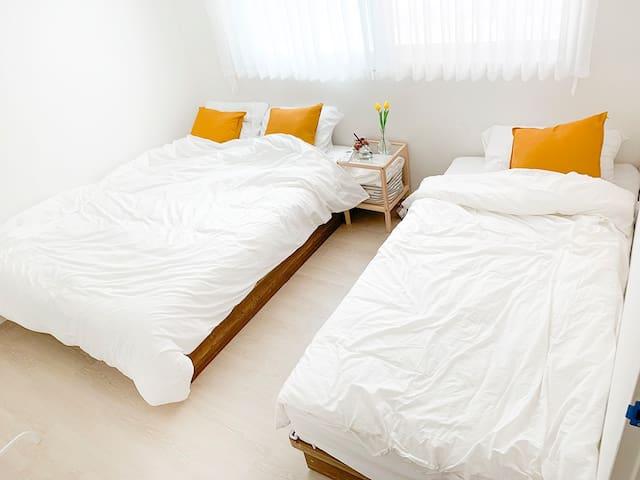 [외국인 전용] SangSu/HongDae Free wifi private room