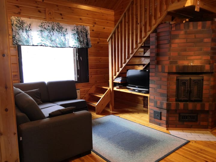 Cozy cottage with Sauna in the heart of Levi
