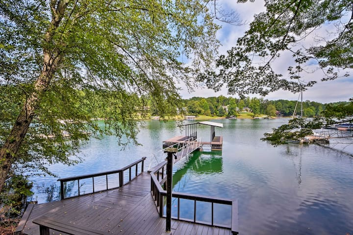NEW! Lakefront Seneca Home w/Dock ~9 Mi to Clemson