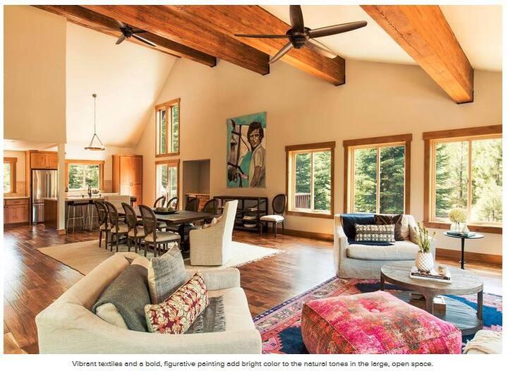 5BR Luxury lodge :  hot tub, slopes & trails!