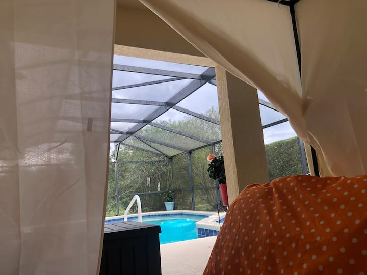 Unique Poolside stay near Disney!