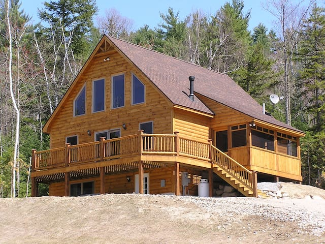 Log Style Chalet near Sunday River  - Bethel - Faház