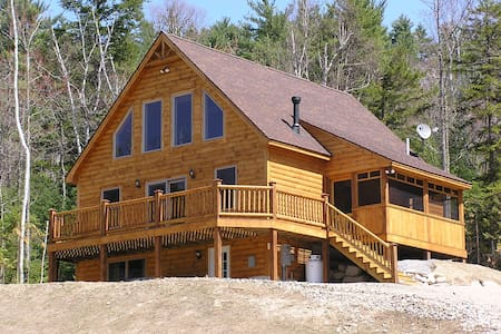 Log Style Chalet near Sunday River