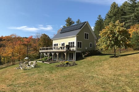 Cozy home with gorgeous views in Mad River Valley