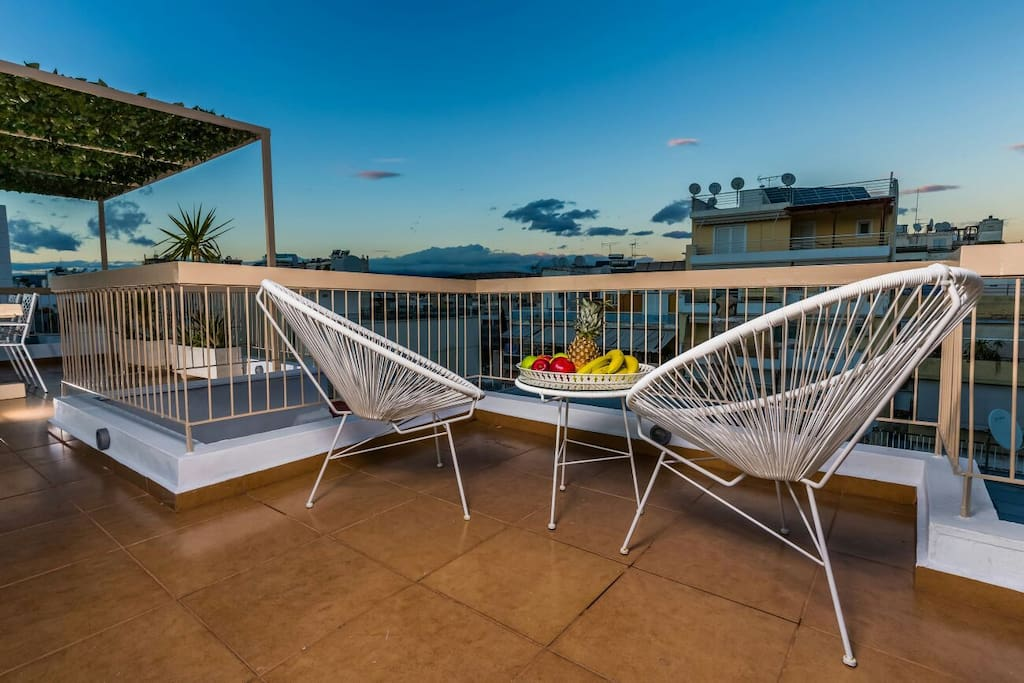 180° view terrace