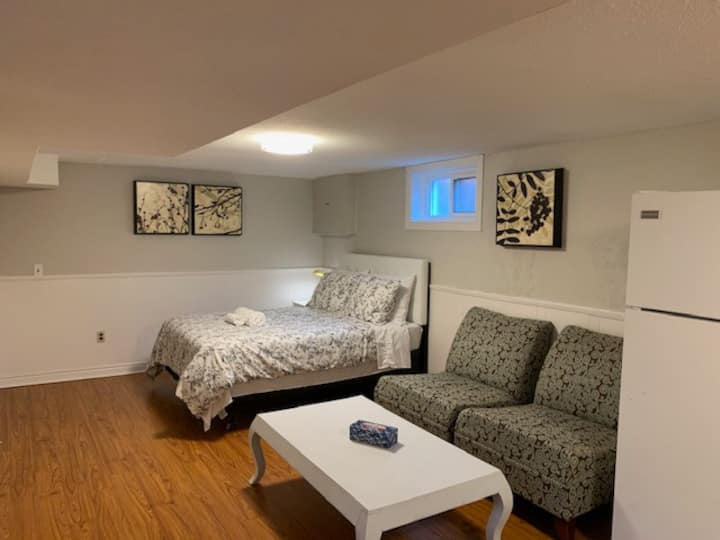 Convenient basement APT close to St. Mary Hospital