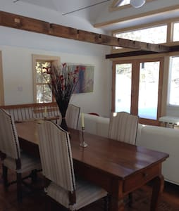 Charming in-town house w/ lake view - West Stockbridge - House