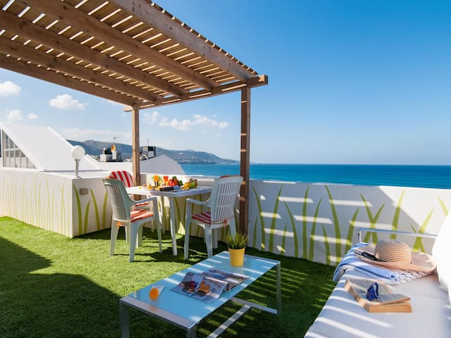 Apat. roof Terrace by Las Canteras California