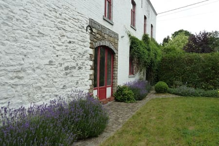 Green nature country & tradition old style cottage - Gembloux