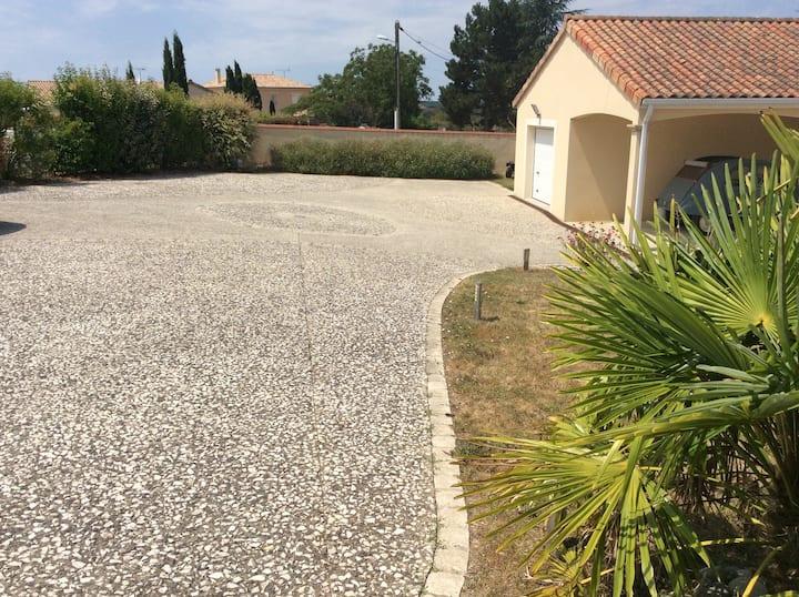 Location 1 chambre à la nuitée - Chauvigny (86)