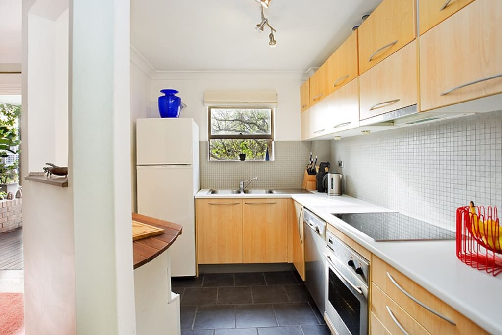 Cute bright and fully functional kitchen