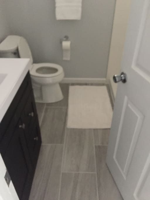 All tile bathrooms completely remodeled.