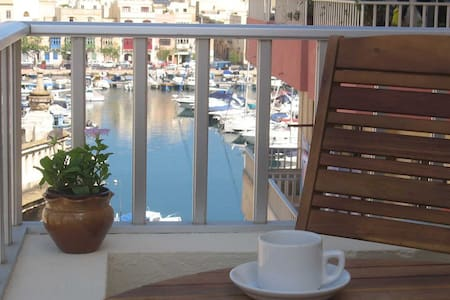 Superbly Located with views near Valletta. - Msida - Lejlighed