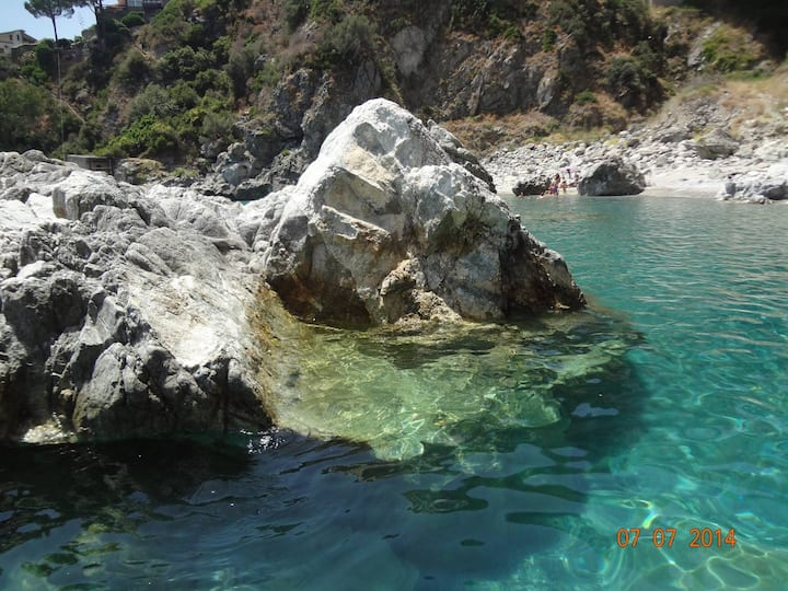 Bilocale vista mare Copanello