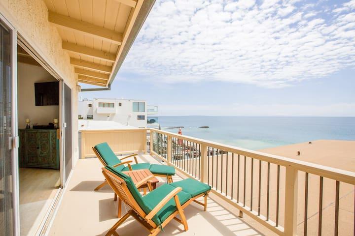 Malibu Road Oceanfront Beach House!