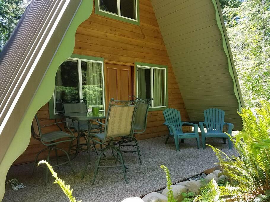 A-Frame Exterior/front porch
