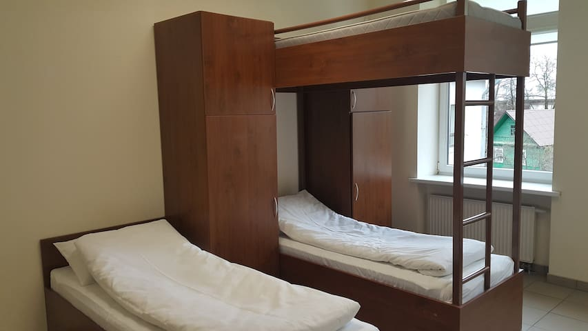 Economy Quintuple Room with Shared Bathroom 2 bunk