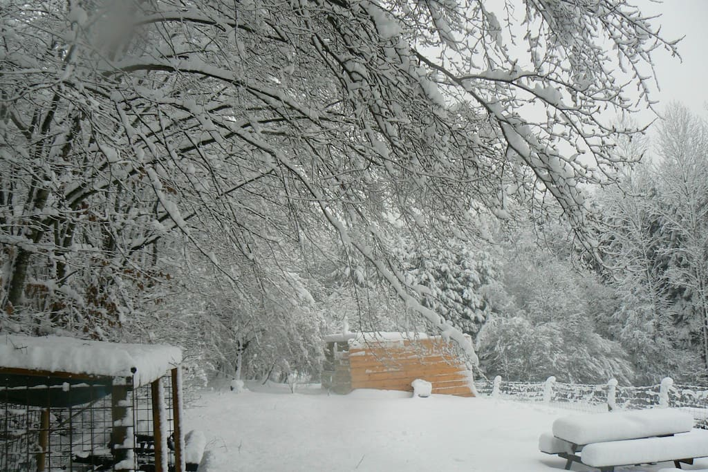 Uw uitzicht in de sneeuw 15-01-2016
