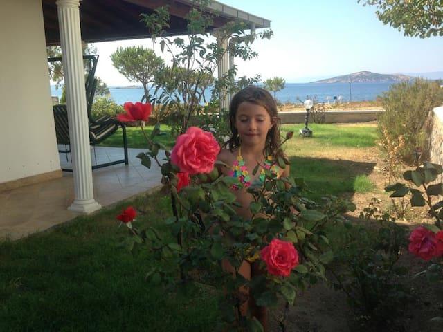 Muhteşem deniz manzaralı şirin ev - Ayvalik - Dom
