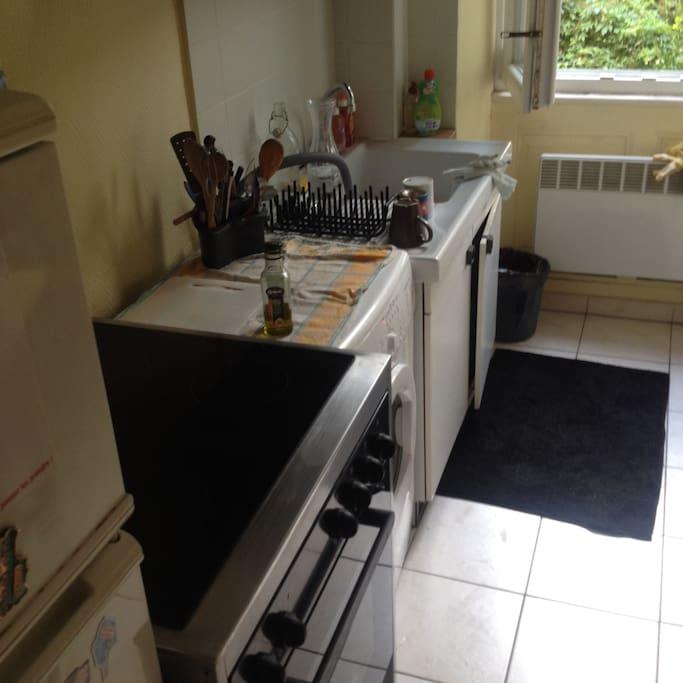 cuisine + lave linge