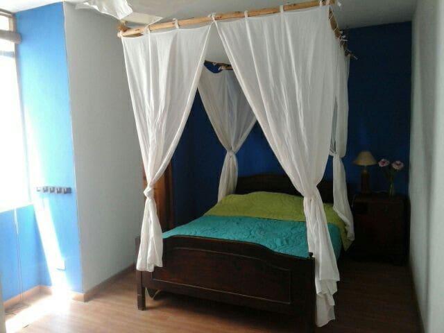 habitacion cama de 2 plazas