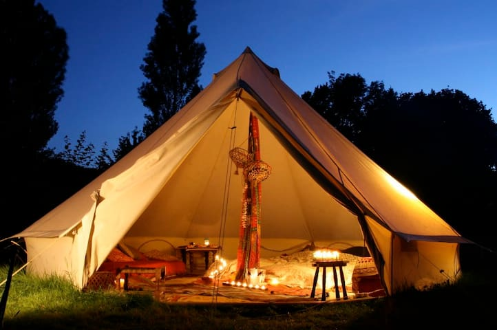 Luxury Bell Tent - Coachella